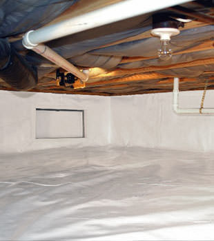 A complete crawl space repair system in Spartanburg