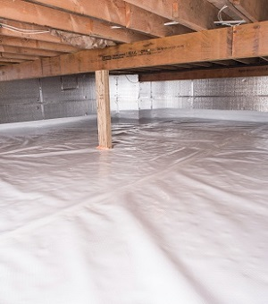 Installed crawl space insulation in Taylors