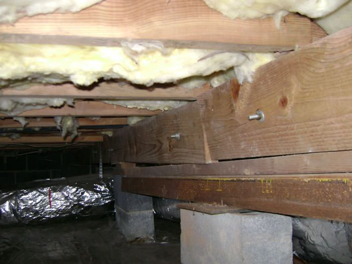 Crawl E Structural Support Jacks